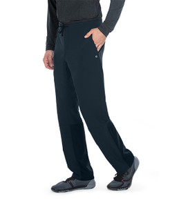 (BWP508S) Barco One Wellness Men's 4 Pocket Drawcord Welt Cargo Pant (Short)