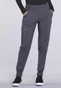 (CK110A) Cherokee Infinity Mid Rise Tapered Leg Jogger Pant