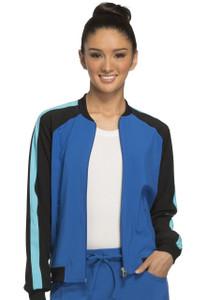 (CK310A) Cherokee Infinity Zip Front Warm-up Jacket