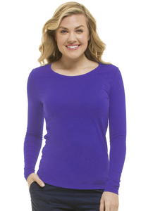 (5047) Healing Hands Purple Label Melissa Long Sleeve Scrub Tee