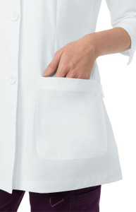 (446) Koi Amber 3/4 Sleeve Women's Lab Coat