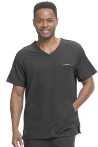 (2380) Healing Hands HH360 Steven 3 Pocket Men's V-Neck Scrub Top