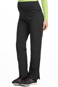 (8727P) Med Couture Activate Scrubs - Knit Waist Maternity Pant (Petite)