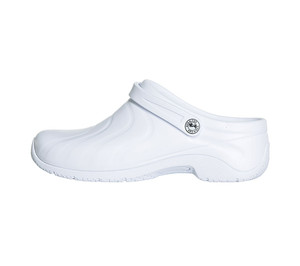 (ZONE-STIH) Anywear Zone White Healthcare Professional Clog (Wide)