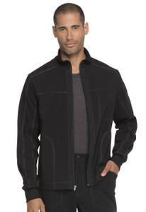 (DK335) Dickies Advance Men's Zip Front Scrub Jacket