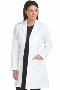 (9652) Med Couture Boutique Tailored 32 inch. Empire Mid Length Lab