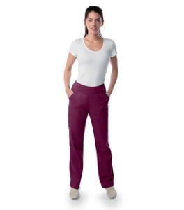 (2043P) Landau Proflex Modern Yoga Scrub Pant (Petite)