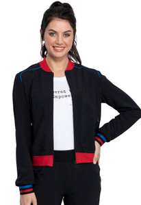 (CKK385) Cherokee The Katie Duke Bomber Jacket