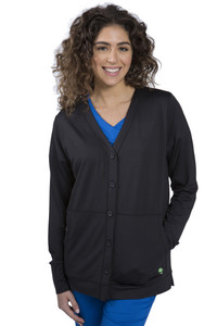 (5077) Healing Hands Purple Label Becca Button Jacket
