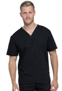 (WW605) Cherokee Workwear Professionals Unisex Pocketless V-Neck Top