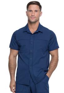 (DK820) Dickies Dynamix Men's Button Front Collar Shirt