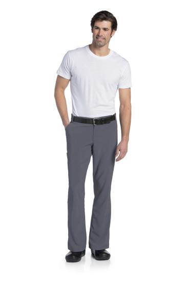 (2037S) Landau for Men Scrubs - Mens Drawstring Cargo Pant (Short)