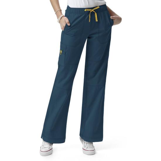 (5214P) WonderWink Four-Stretch Women's Sporty Cargo Pant Petite