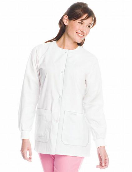 (7533) Landau Scrubs - Drawstring Warm-Up Jacket