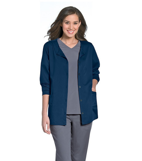 (9871) Urbane Ultimate Scrubs - Aubrey Front Button Jacket