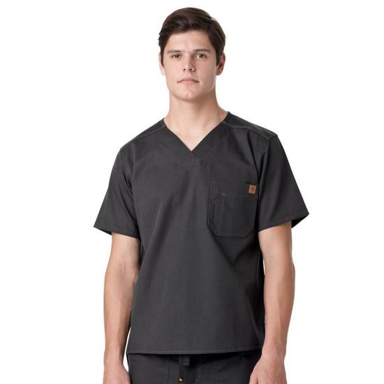 (C15108) Carhartt Ripstop Men's Utility V-neck Scrub Top