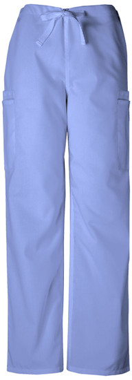 (4000) Cherokee Workwear Originals Mens Drawstring Cargo Pant