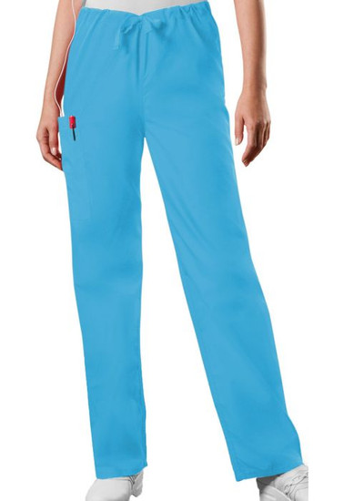 (4100) Cherokee Workwear Scrubs Originals Unisex Drawstring Cargo Pant