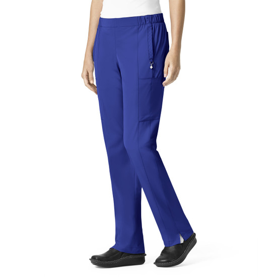 (V5109T) Vera Bradley Halo Mary Quilted Cargo Scrub Pant (Tall)