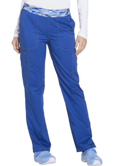 (DK140) Dickies Essence Mid Rise Tapered Leg Pull-on Pant