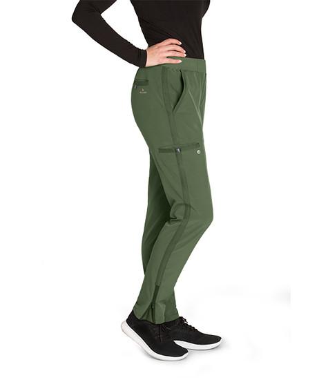 (BWP505) Barco One Wellness Women's 5 Pocket Knit Waist Cargo Pant