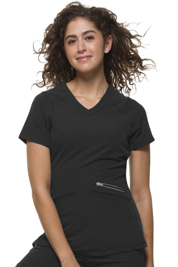 (2284) Healing Hands HH360 Serena V-neck Scrub Top
