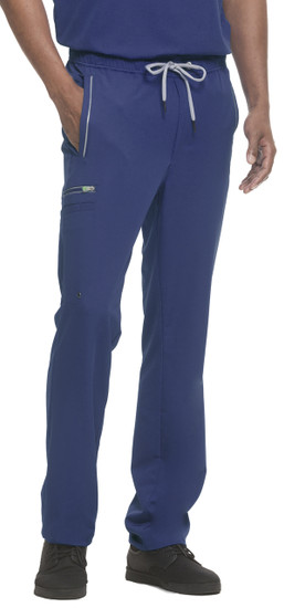 (9171) Healing Hands HH360 Noah Drawsting Men's Cargo Scrub Pant
