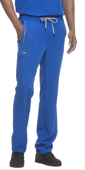 (9171S) Healing Hands HH360 Noah Drawsting Men's Cargo Scrub Pant (Short)