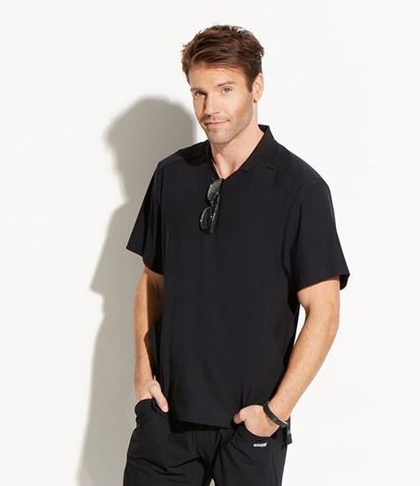 (GET009) Grey's Anatomy Edge Men's Evolution 3 Pocket Polo Scrub Top