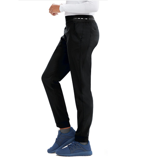 (GVSP512P) Grey's Anatomy Spandex Stretch 3 Pocket Jogger Pants  - Petite