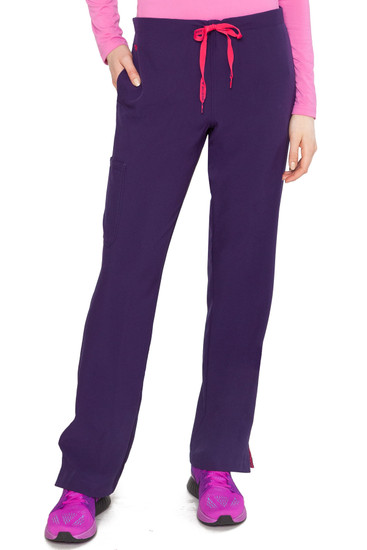 (8719T) Med Couture Energy Scrubs - Women's 1 Cargo Pocket Pant (Tall)