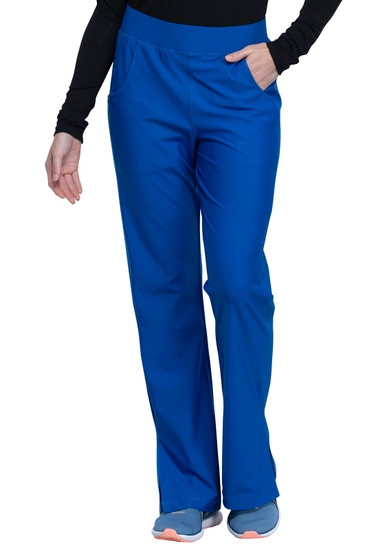 (CK091T) Form by Cherokee Mid Rise Moderate Flare Leg Pull On Pant (Tall)