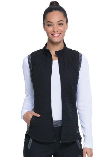 (DK510) Dickies Dynamix Quilted Zip Front Vest