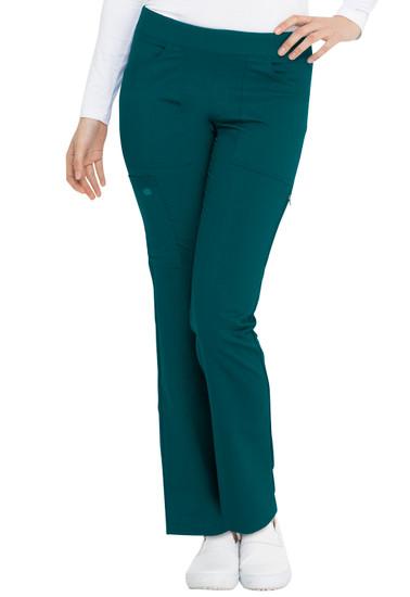 (DK135) Dickies Balance Mid Rise Straight Leg Pull-on Pant