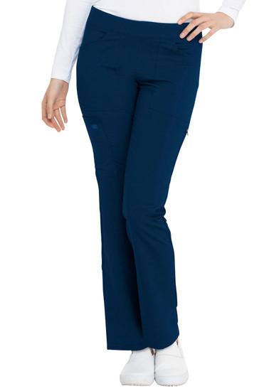(DK135P) Dickies Balance Mid Rise Straight Leg Pull-on Pant