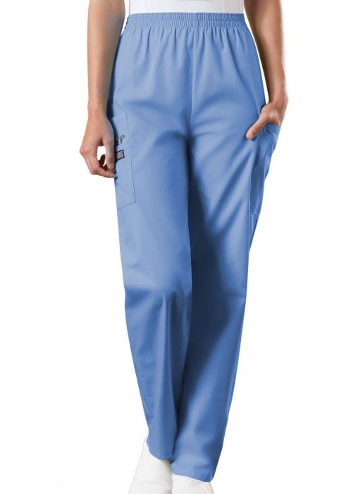 3fd9e46d173 (4200) Cherokee Workwear Scrubs Originals - Natural Rise Tapered Pull-On  Cargo Pant ...