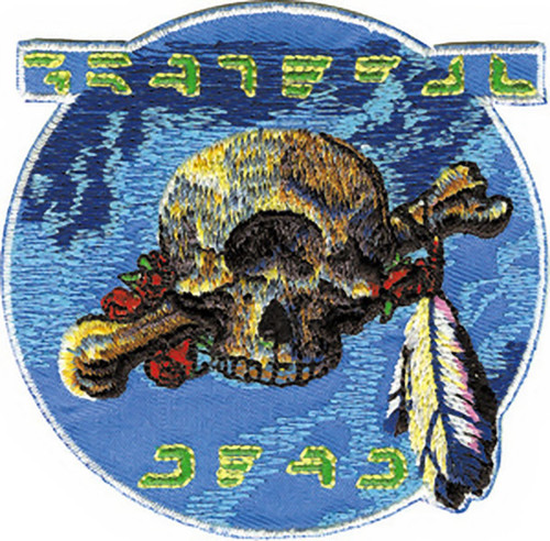 Grateful Dead Iron-On Patch Cyclops Skull Logo