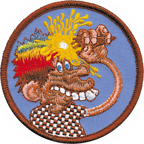 Grateful Dead Iron-On Patch Ice Cream Cone Kid