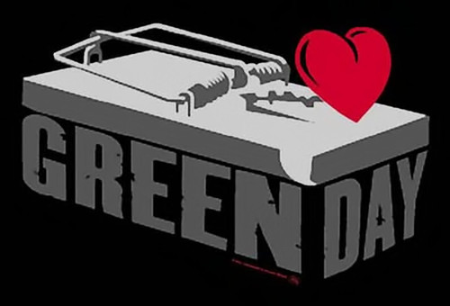 Green Day Poster Flag Mouse Trap Logo Tapestry