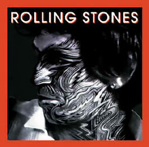 Rolling Stones Iron-On Patch Keith Richards Tattoo You