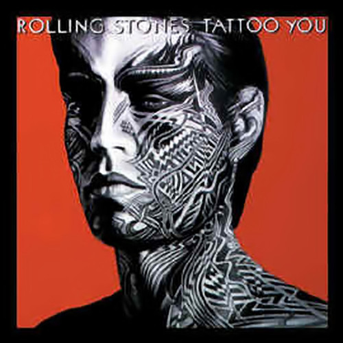 Rolling Stones Iron-On Patch Mick Jagger Tattoo You