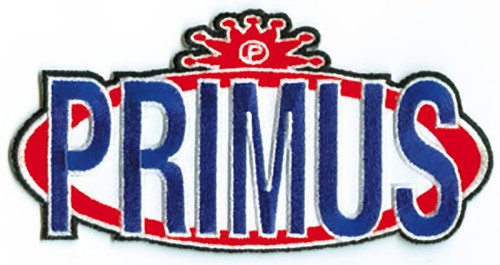 Primus Iron-On Patch Oval Letters Logo