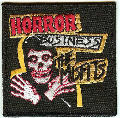 Misfits Iron-On Patch Horror Business Logo