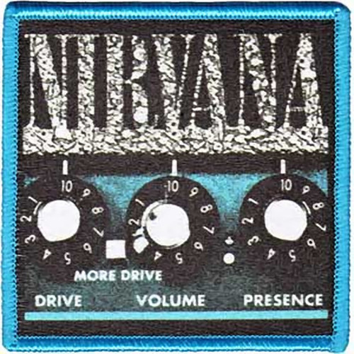 Nirvana Iron-On Patch Amp Logo