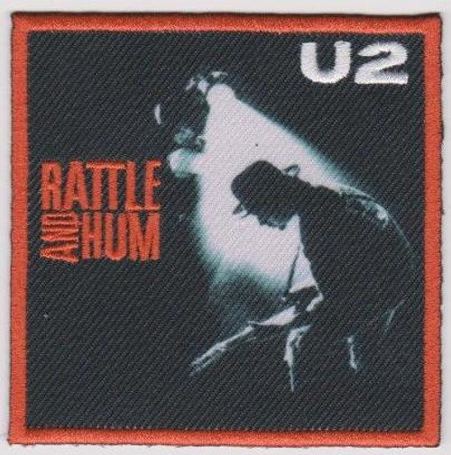 U2 Iron-On Patch Rattle And Hum Logo