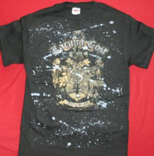 Lacuna Coil T-Shirt Shield Logo Black Size Medium