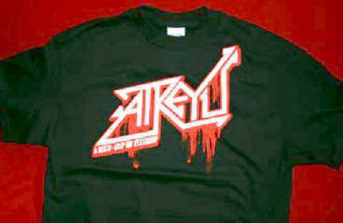 Atreyu T-Shirt Death Grip On Yesterday Black Size Large