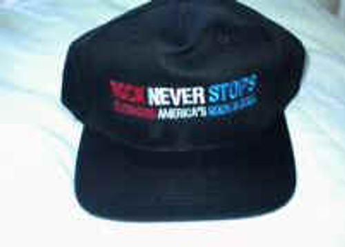 Rock Never Stops Tour Hat Black One Size Fits All