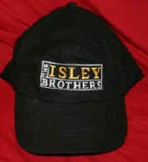 Isley Brothers Hat Letters Logo Black One Size Fits All