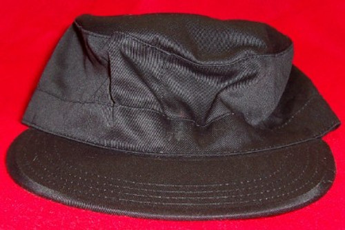 Black Combat Hat Ultra Force Rothco Size Medium